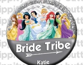 "Disney Princess Bride Tribe 3"" Button"