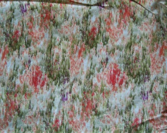 Fabric  Nature's reflection 1.66yds Ro Greggs Northcott Quest for the Cure