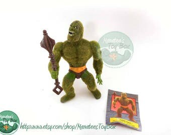 MOTU Action Figure: Moss Man Complete 1980s Toy