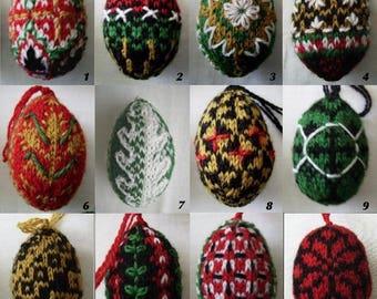 Kit - Knit Pysanky