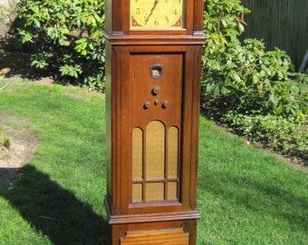 Antique Grandfather Clock Radio-Philco 70
