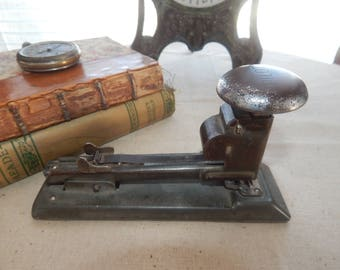 Nice Working Vintage Pilot Stapler Industrial Decor