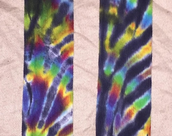 5538 Tie-Dyed Thigh High Cotton/Nylon/Spandex