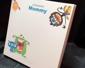 Your Wild School Monster Note Pad