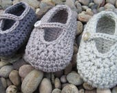 Crochet Pattern for Daisy Jane Baby Shoe