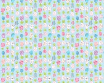Pineapples cotton fabric by Haute ZaHara for Dena design and Freespirit fabrics PWDF273