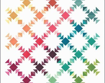 Prism quilt pattern by Vanessa Christenson for V and CO.