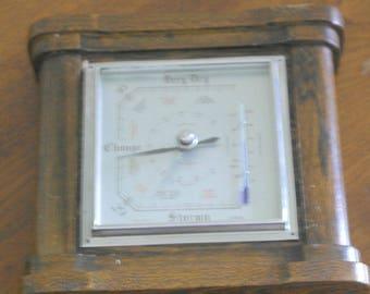 vintage wall of fee standing barometer