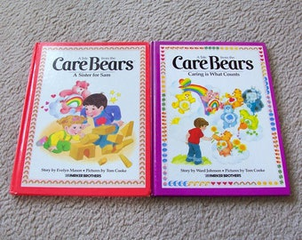Care Bears Vintage Books - Parker Brothers - You Choose Which Ones