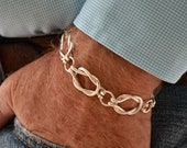 Sailors knot bracelet - 14K gold filled - 9 inches