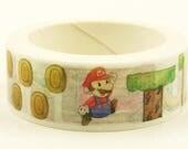 Mario - Japanese Washi Masking Tape - 5.5 yard