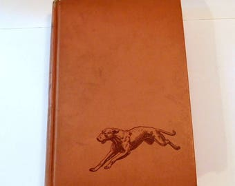 KAZAN The WOLF DOG Book - James Oliver Curwood - Classic Literature - Vintage 1940's 1941 - Hardcover
