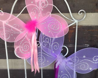 Affordable Favors for Woodland Fairy Party--fairy favors--Tinkerbell party--party favors--kids party favors--fairy wings--cheap fairy wings