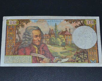 France Banknote 1967 10 Franc Fine condition