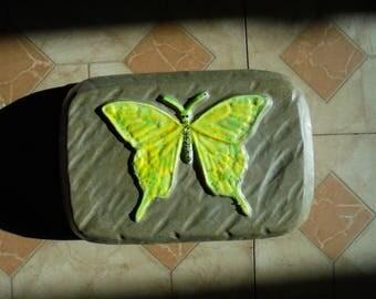 Handmade Glow In The Dark Stone Doorstop, Free Shipping