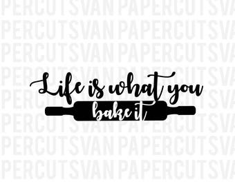 Life is What you bake it SVG //  Matching Christmas svg // Sibling Christmas outfit // Twin Christmas| reindeer Svg // Silhouette - Cameo