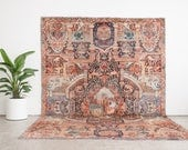 TAHER 8x11.5 Hand Knotted Persian Wool Rug
