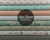 Little Forest Bundle from 3 Wishes Fabrics (10 Fabrics)