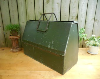 Vintage Military Cantilever Tool Box