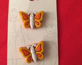 Butterfly Belle Buttons by Dritz carded