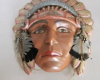 Ceramic Bisque Chief Mask