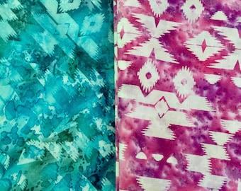 Custom batik print fabric HULA HOOP