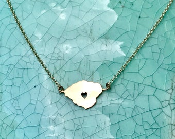 Heart in Kauai Necklace