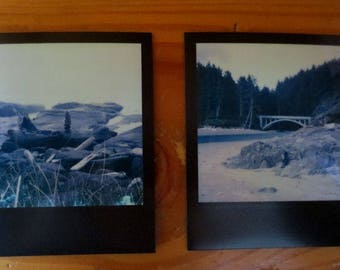 Set of Original Polaroid Art Photos - Oregon Coast Scenes - OOAK