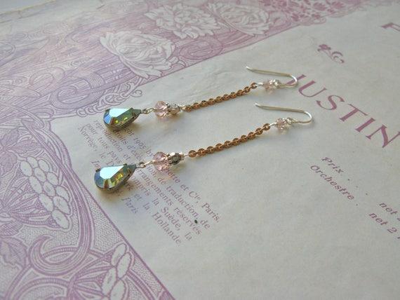 Mitzi Adorée earrings...