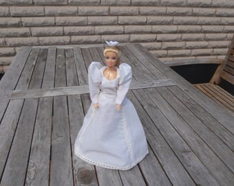 Barbie dress  and crown OOAK, Barbie clothes, Barbie Fashion, Barbie princess dress