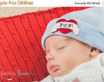 SALE 25% OFF NEWBORN Boy hospital hat, newborn boy hat, newborn boy coming home outfit, baby boy clothes, newborn boy clothes, baby boy, rea