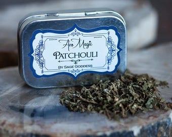 Patchouli Herb Tin
