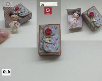 Muñeca tilda miniatura