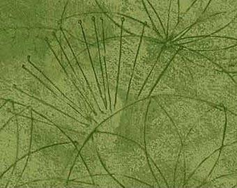 Green Print from Artisan Spirit by Northcott