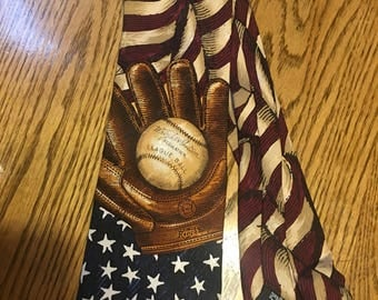 Red, White, and Blue and Baseball too