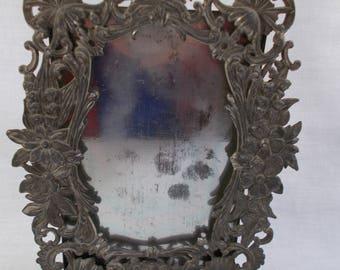 Antique Art Nouveau Metal Frame