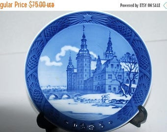 weekend sale Royal Copenhagen Christmas plate 1953