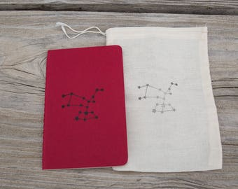 Mini Astrological Star Sign Journal Gift Bridesmaid