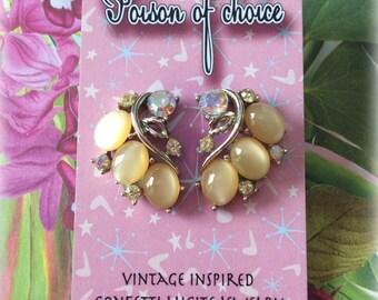 Vintage Lisner earrings