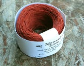40/2 Tomato Red Normandy Linen Thread
