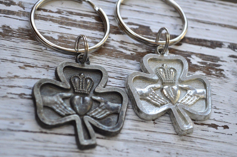 Unisex irish claddagh keychain choice of finish traditional irish unisex irish claddagh keychain choice of finish traditional irish symbol love commitment buycottarizona Choice Image