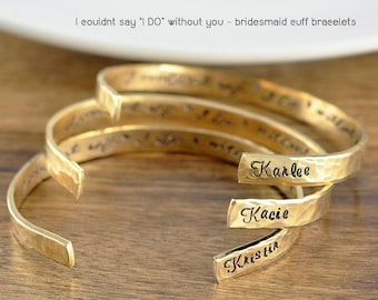 Hand stamped jewelry personalized gifts by luckyhorngifts on etsy thank you gift for bridesmaid personalized bridesmaids gifts bridesmaid gift wedding party gifts negle Gallery