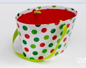 Christmas Party Favor Box - Christmas Party Favor - Christmas Favor Box - Christmas Gift Box - Party Favor Box