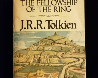 Vintage 1976 The The Fellowship of the Ring (part 1) J.R.R. Tolkien