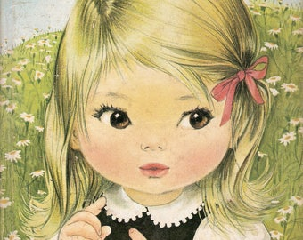 I'm Suzy Vintage Children's Whitman BIG Tell a Tale Book by Dorotha Ruthstrom Illustrated by Alice Schlesinger