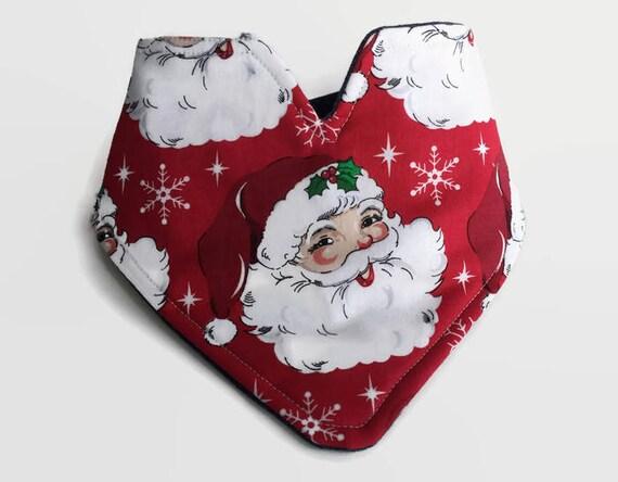 Christmas Bibs Christmas Bandana Bib Santa Clause