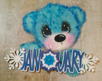 Holiday Tear Bear Embellishments premade4u Scrapbooking pages ( Pick the ones you want )Marystearbears