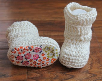 Baby Girl, Baby Girl Boots, Baby Slouch Boots, Baby Booties, Baby Shower