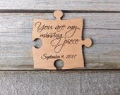 Custom Large Puzzle Piece Cake Topper - Wedding Decoration - Sign