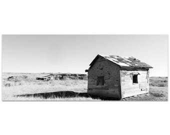 Western Wall Art 'The Shack' by Slade Reiter - American West Decor Country Rustic Photography on Metal or Plexiglass